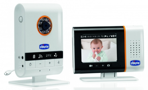 win chicco top digital video baby monitor chelseamamma. Black Bedroom Furniture Sets. Home Design Ideas