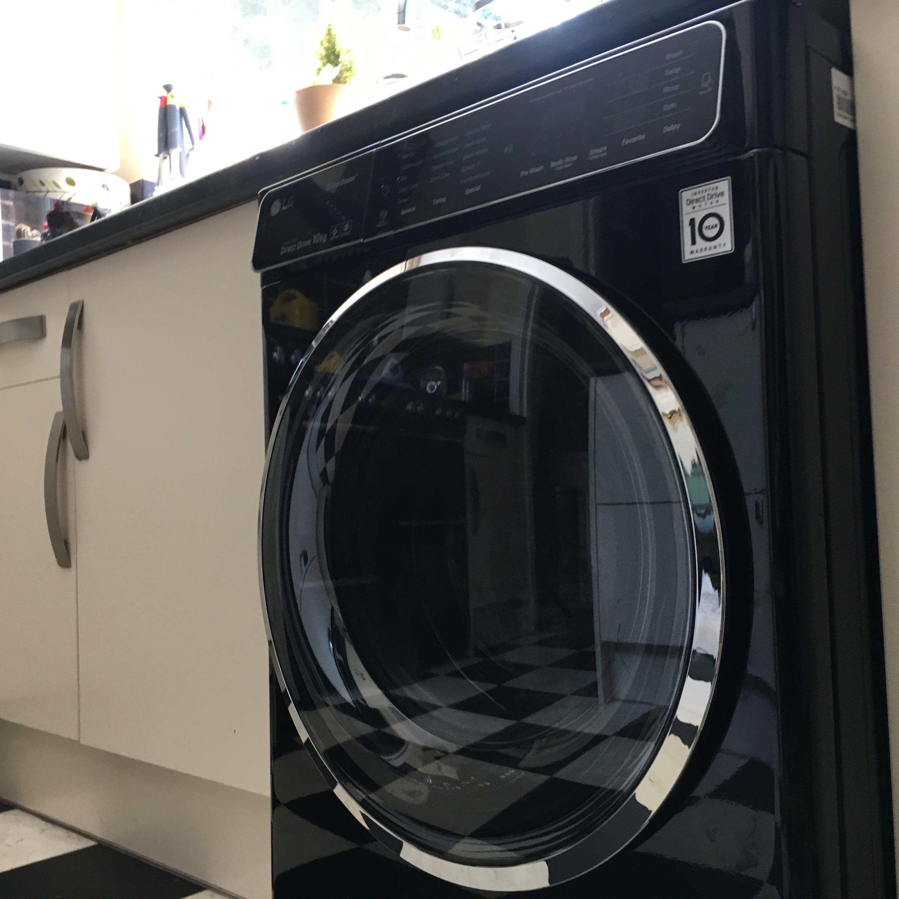 Lg Tumble Dryer Black ~ Ao and the lg truesteam™ kg washing machine review