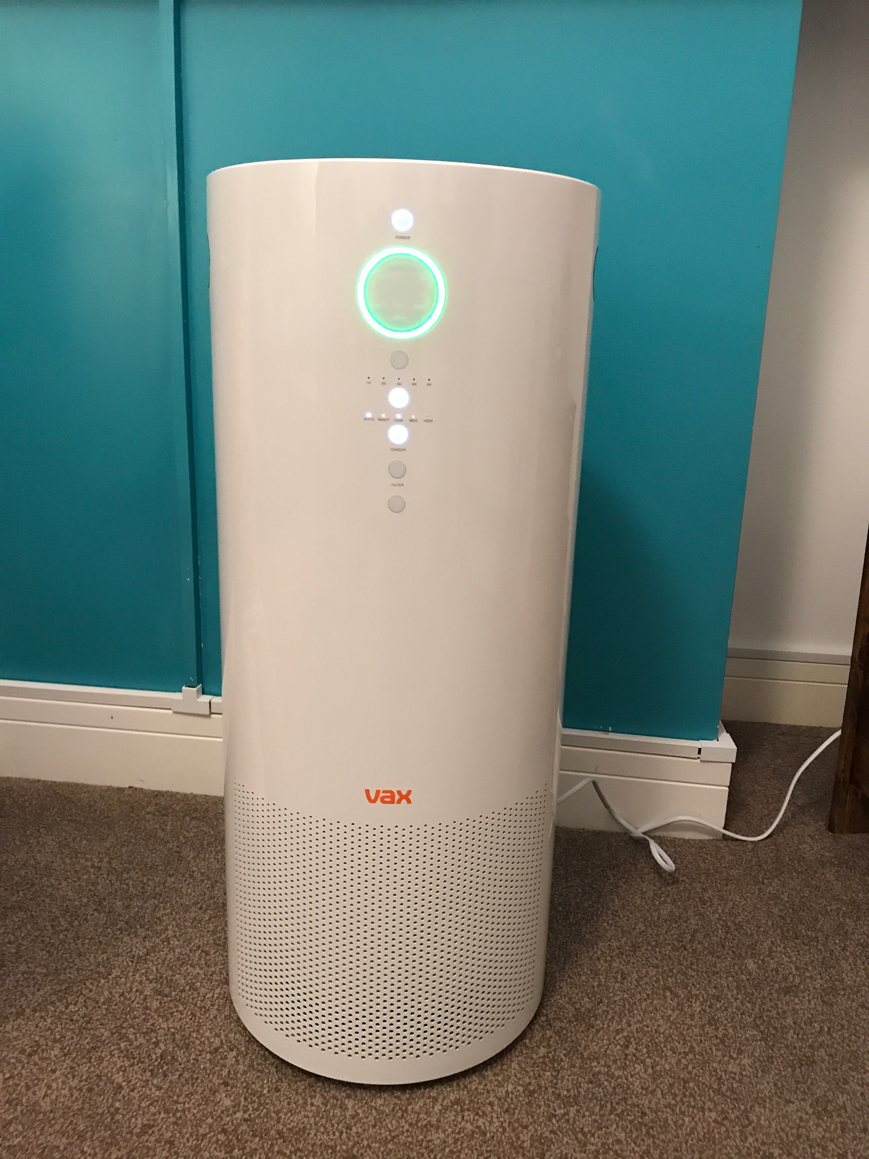 Pure Air Cleaner : Combating allergies with the vax pure air purifier