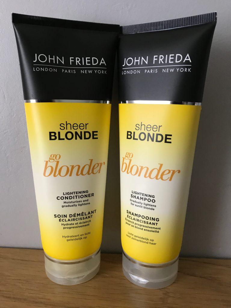 John Freida S Go Blonder Lightening Shampoo And